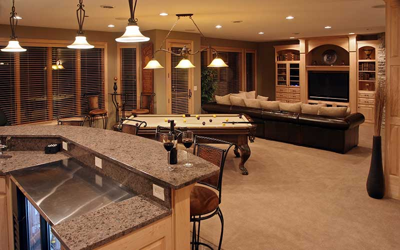 Basement Remodeling Damascus Oregon